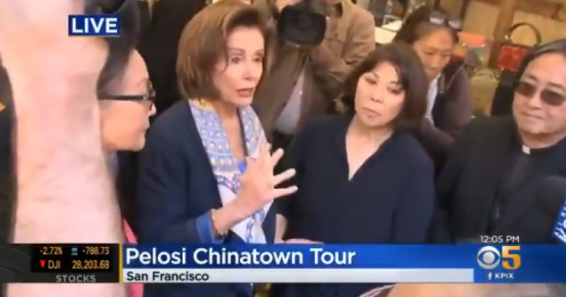 FLASHBACK: In Late February, Nancy Pelosi Encouraged Large Groups to Congregate in Chinatown