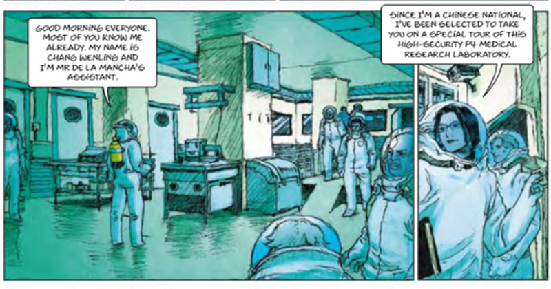 Bizarre EU Funded Comic Book Predicted Pandemic, With Globalists As Saviours Comic