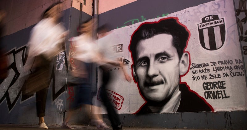 "Orwell Cancelled? Journalist Says ""Vile"" Author Aided Nazis"