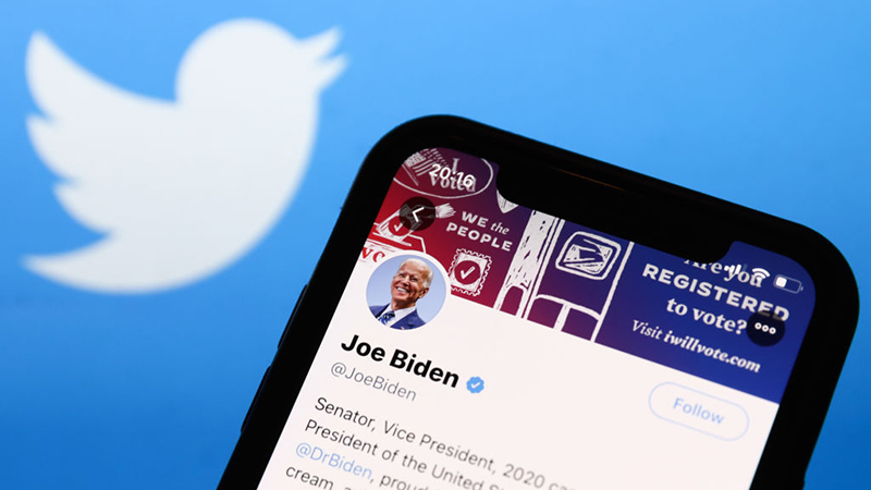 Twitter Says It Will Make Biden @POTUS, Regardless Of Election Outcome