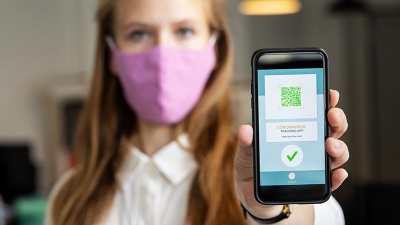 App wird Impfstatus implementieren; Erlaubt den Bars und Restaurants, die Ungeimpften zu identifizieren