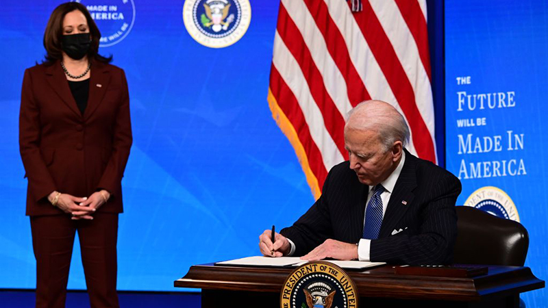 President Executive Order: Biden Has Signed A Record 33 In One Week