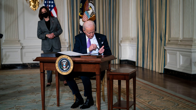 Biden Signs Executive Order To Ban The Term 'China Virus'