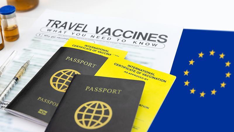 """EU-Führer fordern """"standardisierten"""" Impfpass für Reisen"""