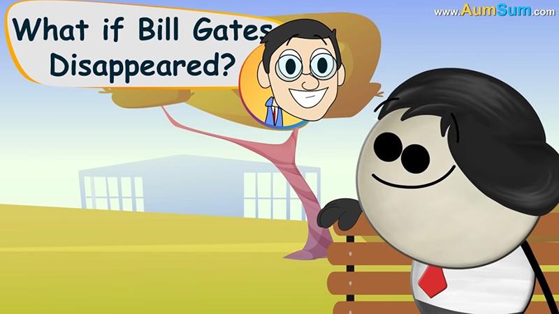 """Gruseliges Kindervideo fragt: """"Was wäre, wenn Bill Gates nicht mehr da wäre?"""