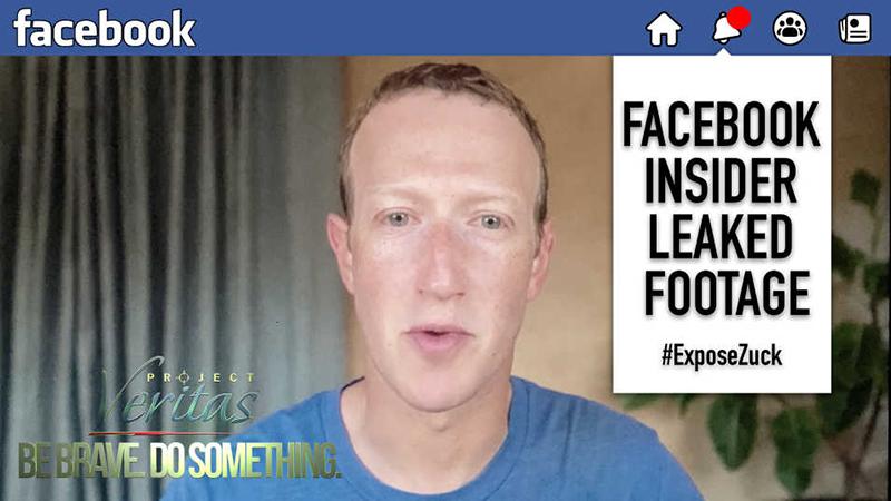 Project Veritas veröffentlicht ein durchgesickertes Video in dem Facebook-Managern zugeben das sie zu viel Macht besitzen