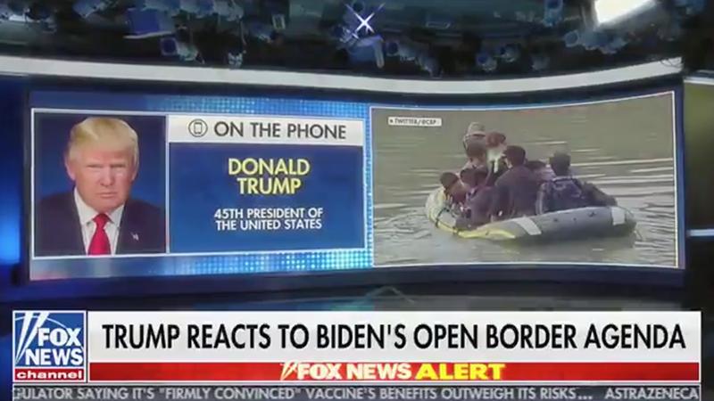 Trump: Biden zerstört durch die Krise an den Landesgrenzen unser Land