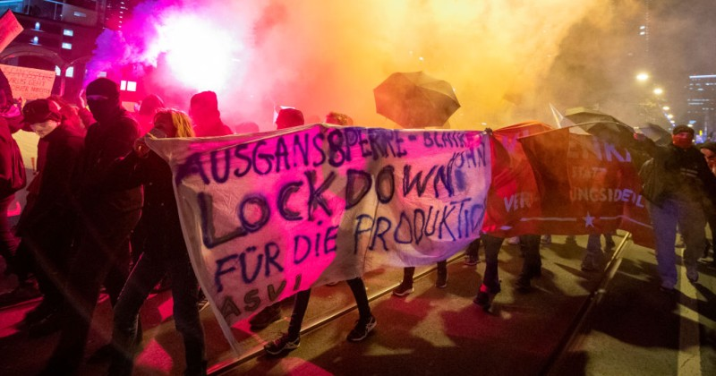 Germany's Domestic Spy Agency is Monitoring Anti-Lockdown Protesters