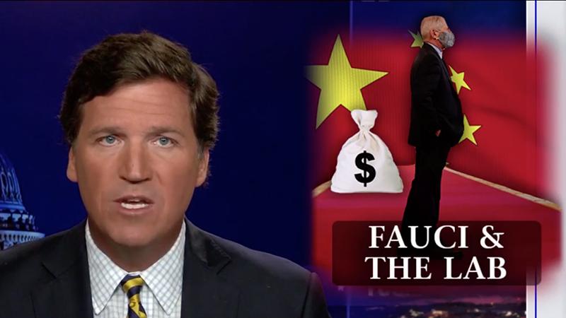 US-TV Fox-Moderator Tucker Carlson fordert eine Untersuchung der Verbindungen von Fauci zum Wuhan Lab