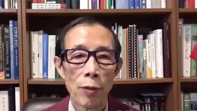Video: Communist Professor Declares That U.S. Was Defeated In 'Biological War' With China