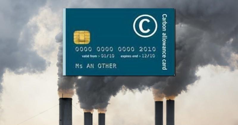 """Technokraten wollen für jeden eine """"verpflichtendes"""" persönliches Kohlenstoffzertifikat"""