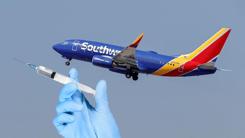 Bericht: Southwest Airlines hält sich an Biden-Impfpflicht für alle Mitarbeiter